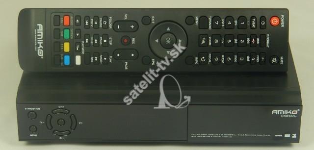 501eaa9ee AMIKO HD 8260+ COMBO S2/T2 - Conax, UNI - SATELIT-TV satelitné prijímače