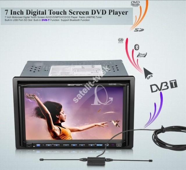 411005e61 EONON G2213 GPS+DVB-T, DVD Multimedialne radio - 2 DIN - SATELIT-TV ...