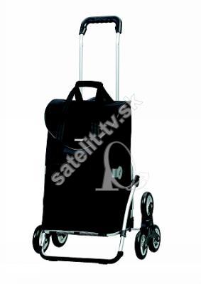50867cfda7f70 Nákupná taška na kolieskach Royal Shopper Senta, do schodov, ložiskové  kolieska