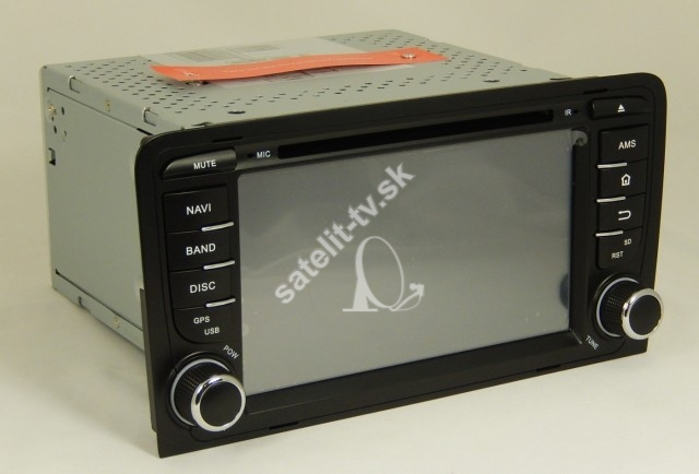 AUDI A3  GPS+DVD+BT ( 2003-2010 ) Bonroad model