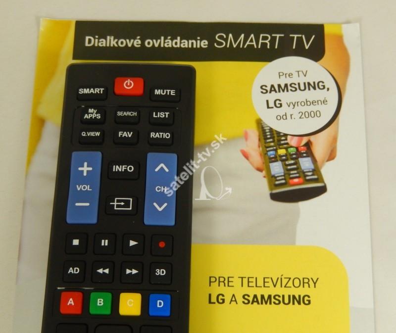 985d1fecc Diaľkový ovládač pre Samsung a LG - Smart model - Diaľkové ovládače ...