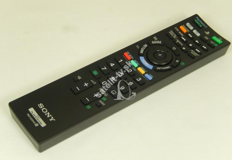 91a483c02 Diaľkový ovládač Sony RM-ED040 - Diaľkové ovládače pre TV - SATELIT ...