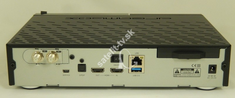 421216910 Digitálny prijímač Dreambox DM900 UHD 1x DVB-S2X-MS Dual Tuner ...