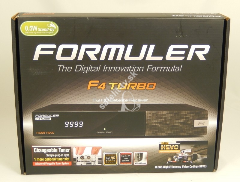 63087f37e FORMULER F4 TURBO - FULL HD HEVC H265 DVB-S2 - ENIGMA 2 - Linuxové ...