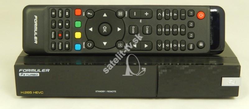 54bfb9dce Formuler F4 TURBO COMBO - Full HD HEVC H265 DVB-S-T2-C - Enigma 2 ...