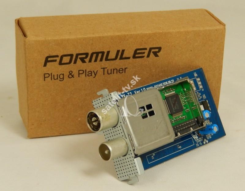 b67f386fa Prídavny tuner Formuler F4 Turbo DVB-T2-C - Pridavny tuner, nahradny ...