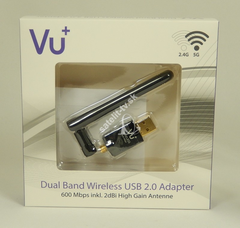 VU - Wifi  600 Mbit Dual Band USB Wlan Stick